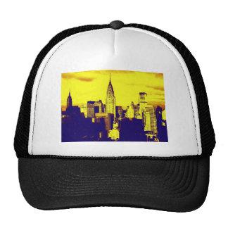 Retro Pop Art Comic New York City Trucker Hat