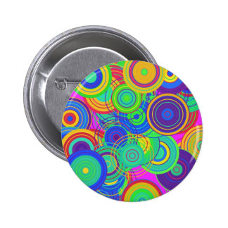 Retro Pop Art Pinback Button