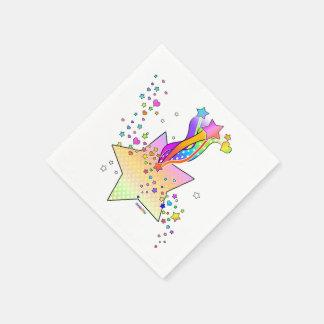 RETRO POP ART STAR NAPKIN
