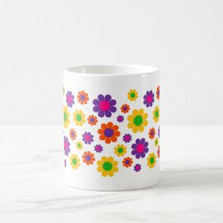Retro Pop Flower Power Mug