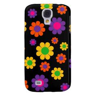 Retro Pop Flower Power Samsung Galaxy S4 Cover