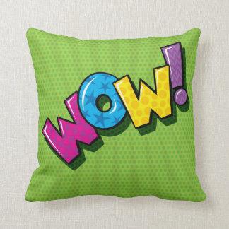 RETRO POP WOW! Pillow