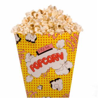 Retro Popcorn - Color Cutout