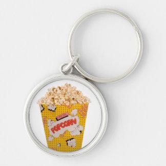 Retro Popcorn - Color Keychain