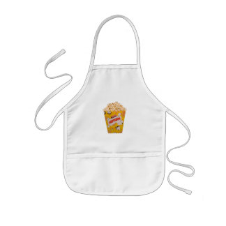 Retro Popcorn - Color Kids' Apron
