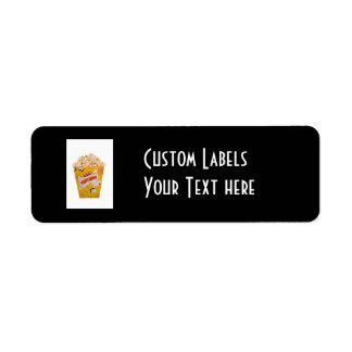 Retro Popcorn - Color Label