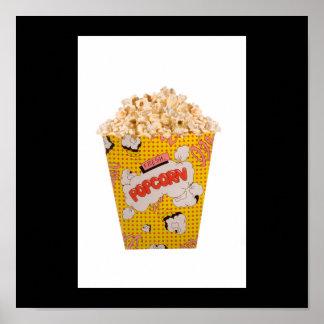 Retro Popcorn - Color Posters