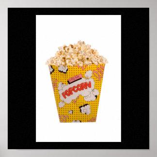 Retro Popcorn - Color Print