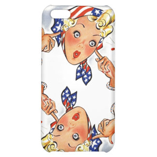 Retro Popping Firecrackers Style iPhone 4 Case