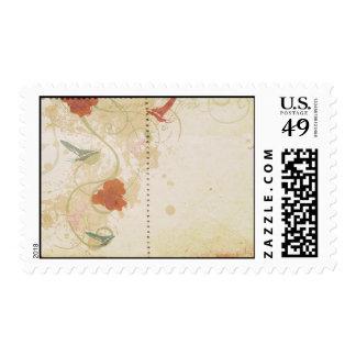 Retro postage