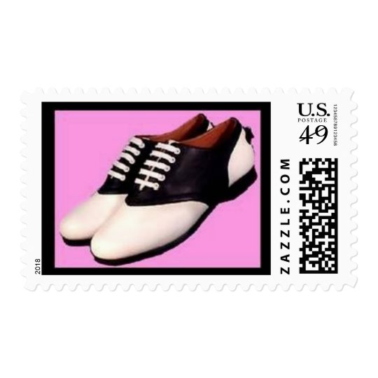 Retro Postage ~ 1950 Saddle Shoes