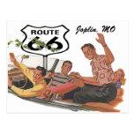 Retro Postcard Route 66 Stopover Promo Road Trip
