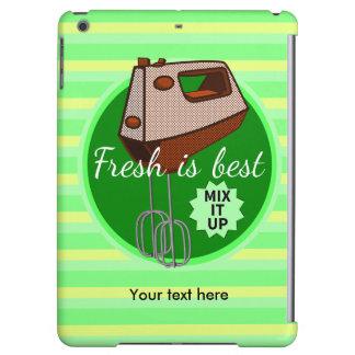 Retro poster style kitchen hand mixer iPad air case