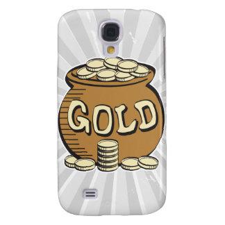 retro pot of gold galaxy s4 case