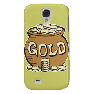 retro pot of gold samsung galaxy s4 covers