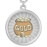 retro pot of gold custom jewelry
