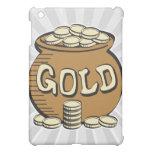 retro pot of gold iPad mini covers