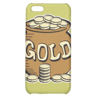 retro pot of gold case for iPhone 5C