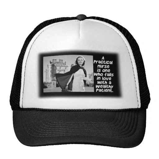 RETRO PRACTICAL  NURSE - HUMOR -  LPN TRUCKER HAT