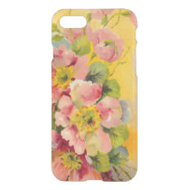 Retro Primeroses Vintage Floral iPhone 7 Case