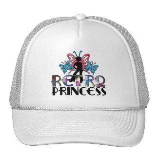 Retro Princess - Disco Girl Butterfly Fairy Trucker Hat