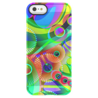 Retro Psychedelic Abstract Permafrost iPhone SE/5/5s Case