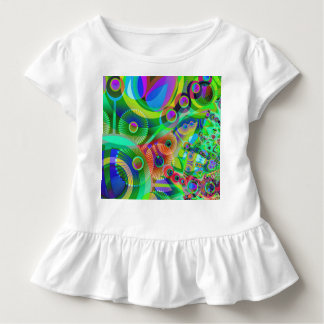 Retro Psychedelic Abstract Toddler T-shirt