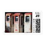 Retro Pumps Postage Stamps