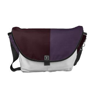 Retro Purple tones Messenger Bag