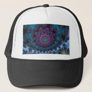 Retro Purple Trucker Hat
