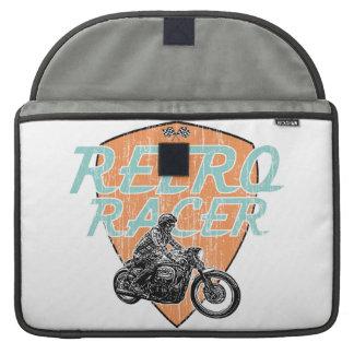 Retro racer sleeves for MacBooks
