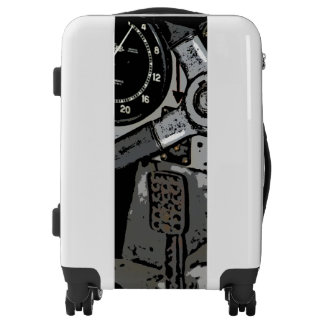 Retro Racing Oldtimer - grunge design Luggage