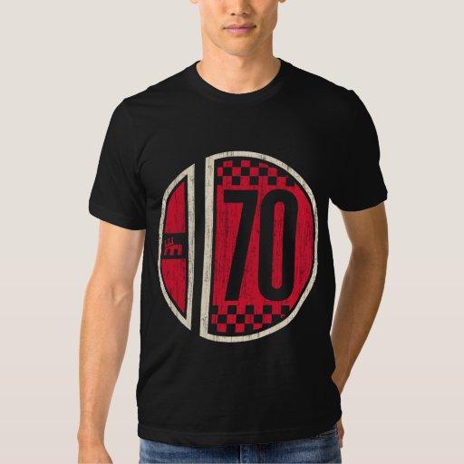 Retro Racing (red/crm vintage) Tshirts
