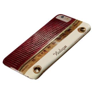 Retro radio barely there iPhone 6 plus case