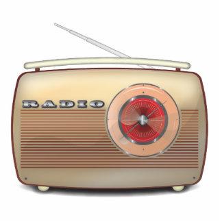 Retro Radio Classic Photo Sculpture