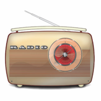 Retro Radio Classic Statuette