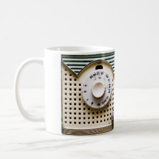 Retro radio coffee mug