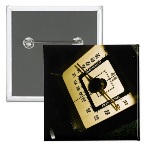 Retro Radio Dial 01 Button