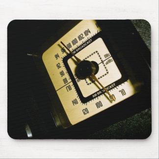 Retro Radio Dial 01 Mousepad