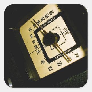 Retro Radio Dial 01 Sticker