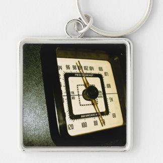 Retro Radio Dial 02 Keychain