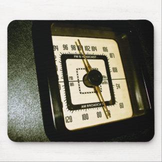 Retro Radio Dial 02 Mousepad