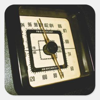 Retro Radio Dial 02 Sticker