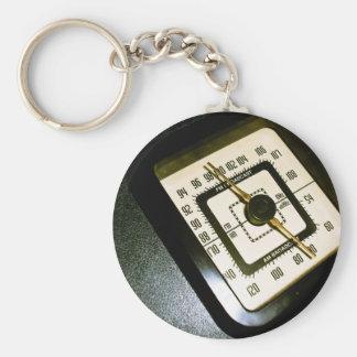 Retro Radio Dial 03 Keychain