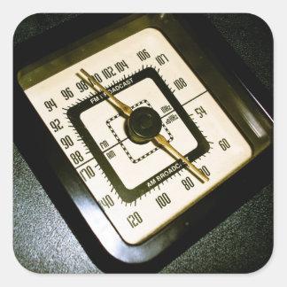 Retro Radio Dial 03 Sticker