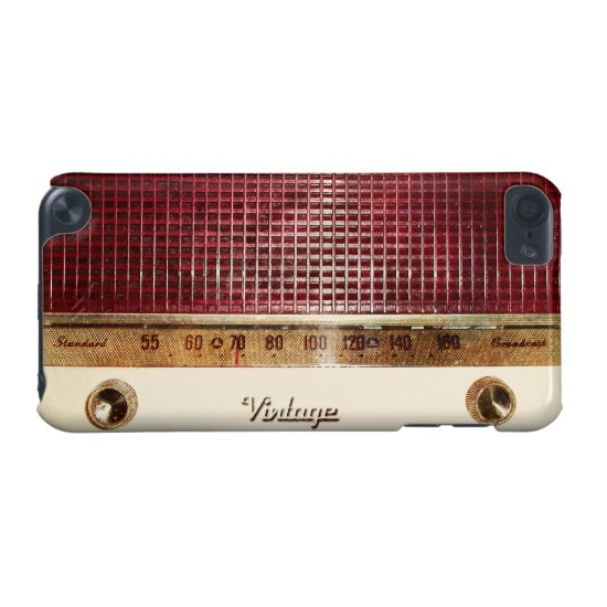 Retro radio iPod touch 5G cover