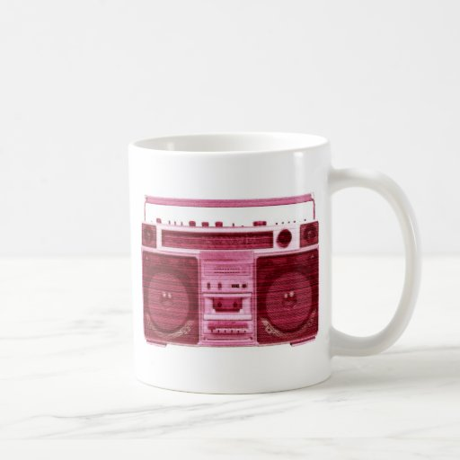 retro radio mug