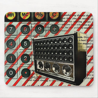 Retro Radio speaker Short Wave Radio Mouse Pad