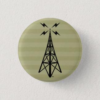 Retro Radio Tower Button
