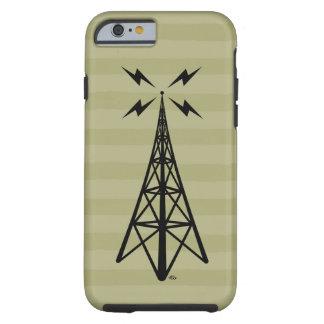 Retro Radio Tower Tough iPhone 6 Case